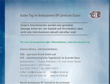 Tablet Preview of edr-klinik.de
